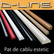 D-Line - Pat de cablu estetic