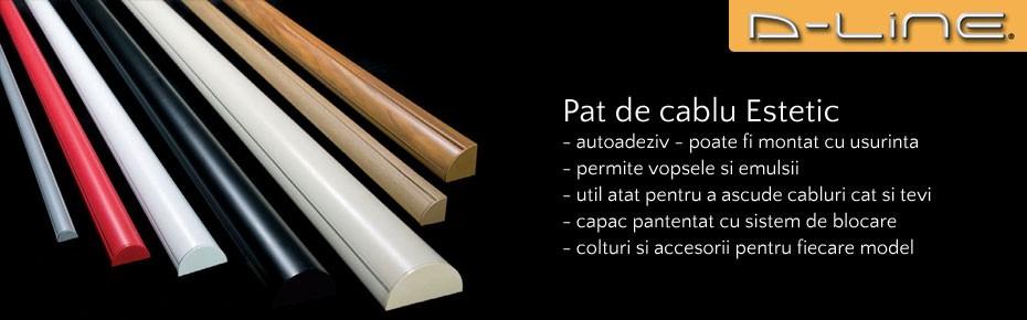 D-Line Pat de cablu estetic