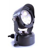 Kapego Reflector LED Power Spot Warm White 24V 3x3W IP65