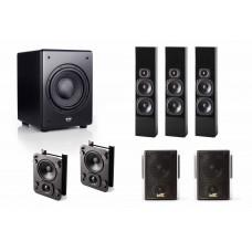 Sistem Audio Imersiv Dolby ATMOS/DTS: X 5.1.2 M&K Sound