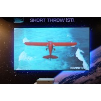 Pachet Short Throw Screen Innovations + Wolf Cinema Pro-85