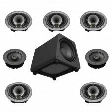 Sistem audio imersiv 5.1.2 GoldenEar in tavan